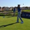 Golfer in Dubai