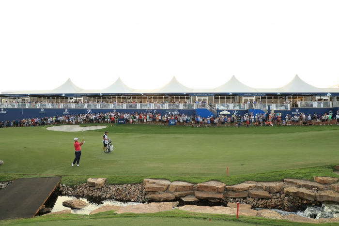 DP World Tour Championship – Day Two