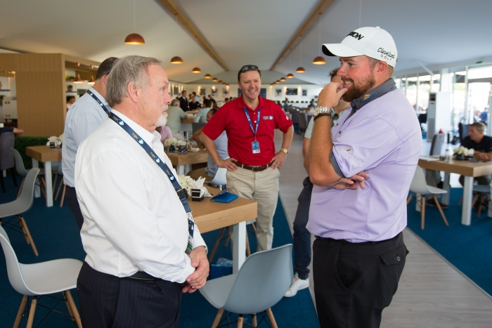 Shane Lowry with guests
