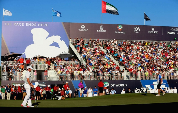DP World Tour Championship – Day Four